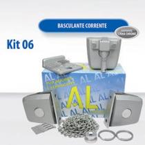 Kit 06 Al - Kit Para Basculante De Vidro Temperado