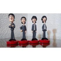 Figuras The Beatles Pasta Cerámica Originales