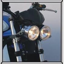 Faro Principal Doble Streetfighter, Custom, Cafe Racer Moto