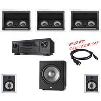 Home Theater Receiver Denon Bluetooth Sub Jbl Caixas Loud