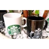 Xícara Starbucks Original 100ml De Ceramica Preta Promoção
