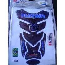 Protetor De Tanque Moto Resinado Play Boy X41