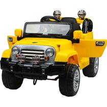 Carro Elétrico Infantil Jeep Off Road Com Cr Carrinho 12v