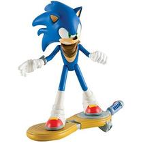 Sonic The Hedgehog Tomy Sonic Boom - Sonic C/ Prancha 16cm
