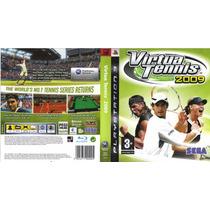 Ps3 Virtua Tennis 2009 Playstation 3 Lacrado Original