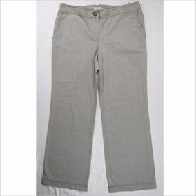 Padrísimo Pantalón A Rayas Para Dama Loft Talla 8p
