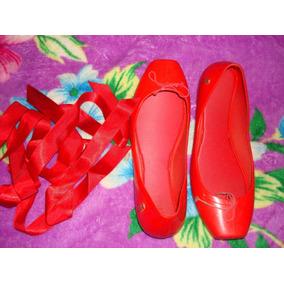 Melissa Ballet Vermelha Original