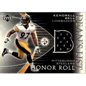 Kendrell Bell Tarj C Jersey Honor Roll 2003 Steelers Ys