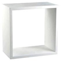 Nicho Decorativo Branco 30x30x10 100% Mdf - Mv007