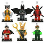 Bloco De Montar Heroes Marvel Vingadores Batman Iron Man Etc