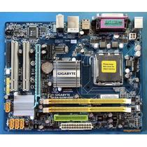 Combo Mother Ddr2 + Dual Ht Dual Core Garantia X Congreso