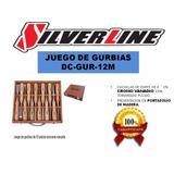 Juego De Gurbias De 12 Piezas Dc-gur-12m Silverline