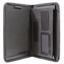 Carpeta / Portafolio / Porta Documentos. Negro Y Marrón Cptc