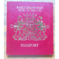 Badly Drawn Boy Born In The Uk Cd Ltd Edition Pasaporte