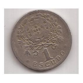 Portugal Moneda De 1 Escudo Año 1928