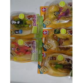 05 Bonecos Scoobydoo Salsicha Palhaço Feiticeiro Lobisomem