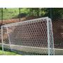 Rede De Futebol Nylon Society 4,20 Trave De Gol - Fio 2- Par
