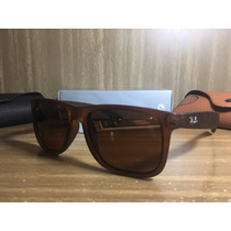 Óculos Justin Masculino Ray Ban Rb 4165 Várias Cores Barato