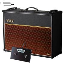 Amplificador Guitarra Vox Ac30 Vr + Footswich, Pre Valvular