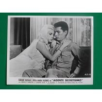 1969 Enrique Guzman Agente Secretisimo Foto Original 1
