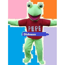 Disfraz Cabezón De Pepe -barney-bestia-mickey-minnie-pooh !!