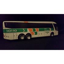 Miniatura Em Madeira Do Ônibus G7 Da Cia São Geraldo S/ret