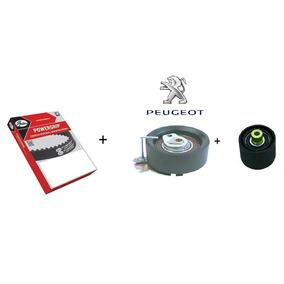 Kit Correia Dentada + Tensor Peugeot 206 207 307 1.6 16v