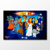 Poster Dr. Who Simpsons Decor 40x60cm Anime Desenho Hq Serie