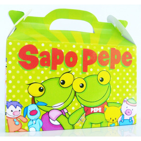 Bolsita Valijita Sapo Pepe Souvenir Infantiles Pack X30