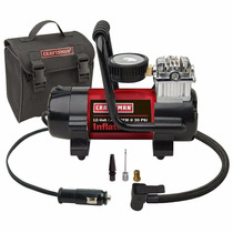 Mini Compresora De Aire Portatil Craftsman Red 120v - 30psi
