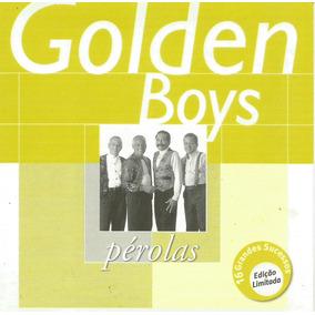 Cd - Golden Boys - Pérolas - Lacrado