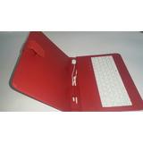 Teclado Para Tablet Con Lápiz Táctil Y Puerto Usb