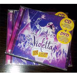 Cd Violetta En Vivo Concierto Cd + Dvd -90%