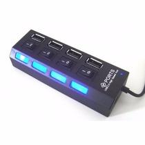 Mini Hub Usb 4 Portas Usb 2.0 Pendrive Tv Mouse Teclado Etc