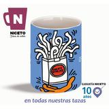 Keith Haring Taza Unica Cigarrillos Exclusiva Niceto Pop