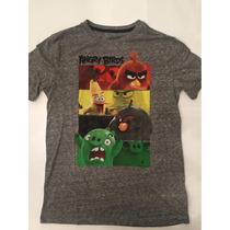 Remeras Sstar Wars, Batman, Angry Birds, Marvel Para Varones