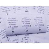 100 Etiquetas De Composição Nylon Resinado