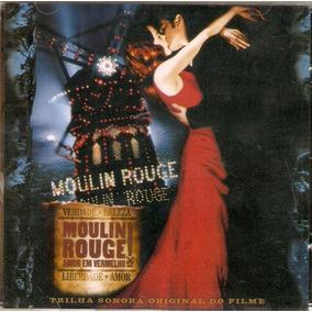 Cd Moulin Rouge - Trilha Sonora Original Do Filme - Novo***