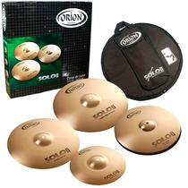 Kit Prato Orion Solo Pro Pr 101 - 12 14 16 20 C/ Bag