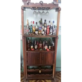 Mini Bar De Madera Magdaleno!!! En Perfecto Estado!!!