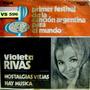 Violeta Rivas Festival De La Cancion Argentina .. Vinilo Sim