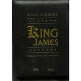Bíblia De Estudo King James Zíper Índice Letra Grande Palavr