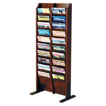 Elegante Y Moderno Revistero Librero Para Revistas Wooden