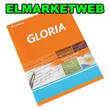 Cuaderno Gloria De 24 Hojas Rayadas Tapa Flexible