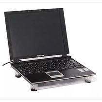 Base Porta Notebook Y Netbook Con Cooler Gigante Hasta 15.6