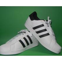 Zapatos Adidas Con Rayas Doradas