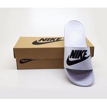 Chinelo Nike Benassi Feminino Masculina Barato + Brinde