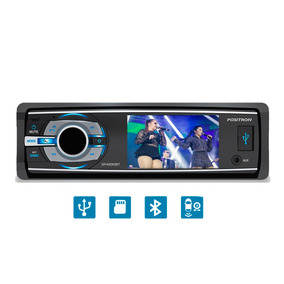 Dvd Player Automotivo Positron Bluetooth Usb 3 Pol Sp4330