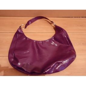 Bolsa De Verniz Púrpura Grande