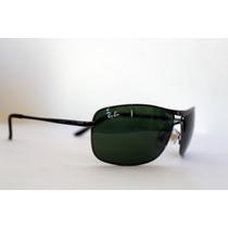 Oculos De Sol 8013 Demolidor Grafite Lentes Verdes
